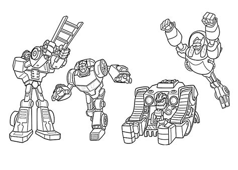 Printable Coloring Pages Rescue Bots | all rescue bots coloring pages for kids printable free