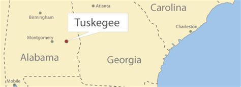 map of tuskegee alabama the bob simms collection an activist s and legacy