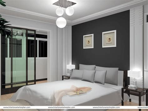 bedroom grey and white interior exterior plan smart bedroom in grey and white