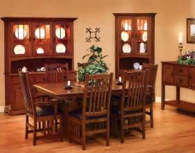mission style dining room home design