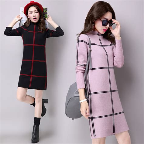 Sweater Cools Roffico Cloth plaid sweater dress winter fashion ideas designers collection
