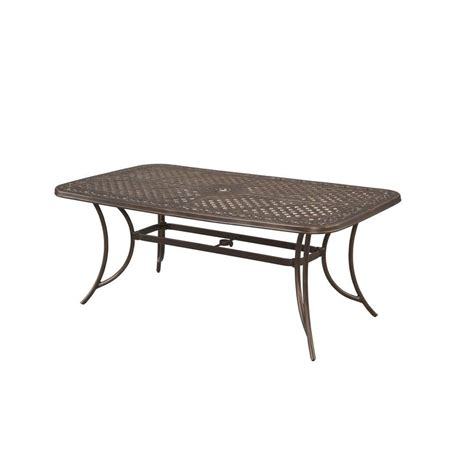 Hton Bay Patio Table Hton Bay Patio Table Hton Bay All Weather Wicker The Best