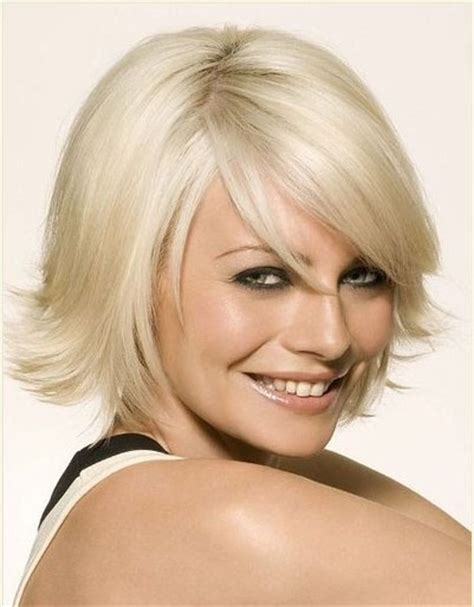 medium length hairstyles for women over 40 and oval face and thin hair elegant medium length hairstyles for women over 40 best