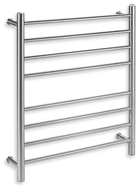 bed bath and beyond towel warmer myson wall 8 bar towel warmer bright pearl contemporary