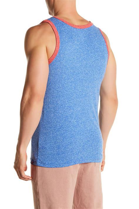 Jv Ringer Sweater Fit L lyst umbro u ringer tank top in blue for