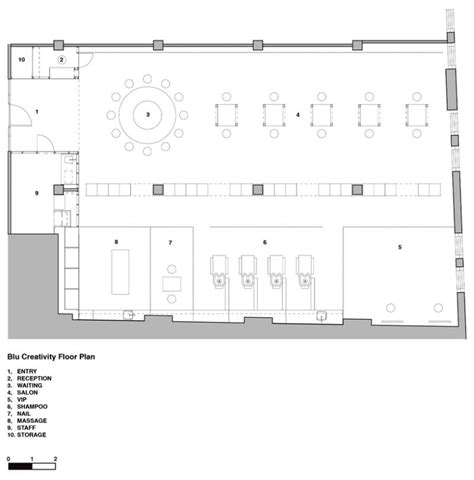 beauty salon floor plan modern beauty salon in sydney dazzles with its sustainable