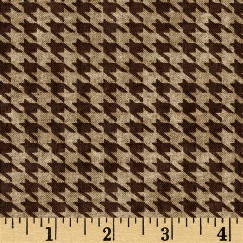 brown houndstooth pattern alpine woods alpine houndstooth tan brown discount