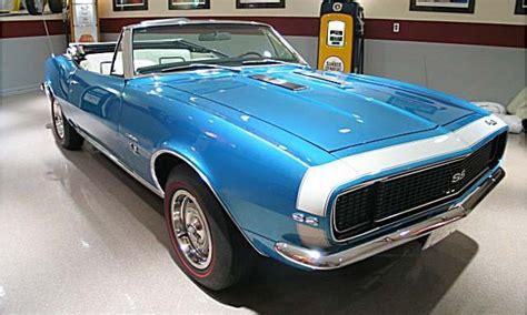 Marian Blue 1967 1969 camaro factory paint
