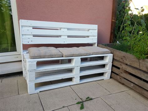 Palette Banc banc coffre en palettes meubles et rangements par