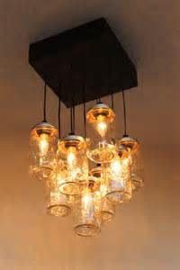 canning jar light fixture jar chandelier the antuanette jar