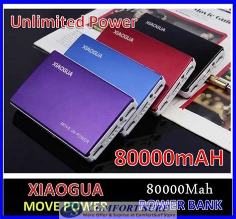 Power Bank Fifan 80000mah xiaogua 80000mah with solar panel po end 7 27 2016 9 15 pm