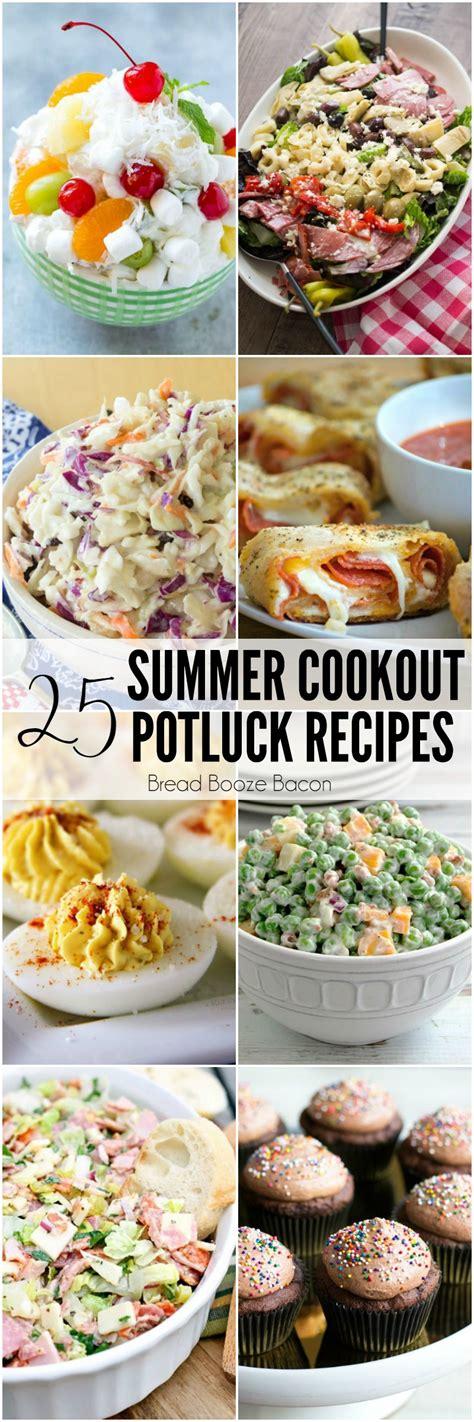 25 summer cookout potluck recipes bread booze bacon