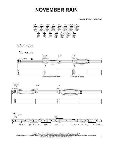 tutorial piano november rain piano piano tabs november rain piano tabs piano tabs