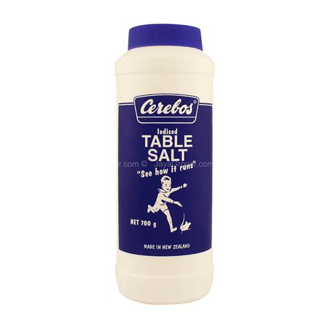is table salt iodized jaya grocer cerebos iodised table salt fresh groceries