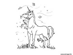 coloriage licorne dessin mignon 58 dessin