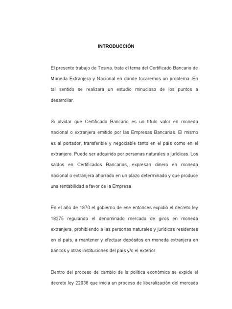 certificado bancario de moneda extranjera y nacional en certificado bancario de moneda extranjera y nacional