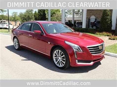 Cadillac For Sale In Florida by 2018 Cadillac Ct6 For Sale In Florida Carsforsale 174