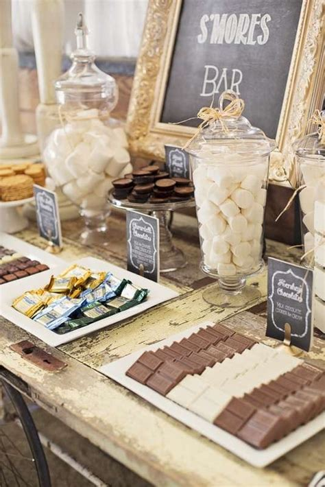 smores at wedding reception time to plan your s more wedding reception venuelust