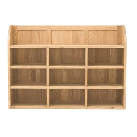 mobel oak wall shelves
