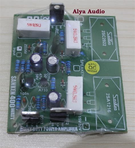 Harga Power Sanken 400 Watt Stereo power lifier quot alya audio quot elektronik page 3