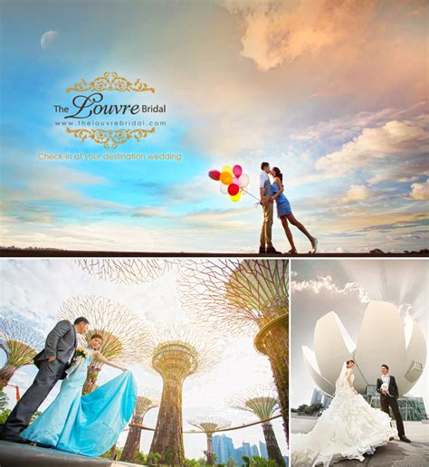 Wedding Concept Singapore by Top 10 Favourite Wedding Photoshoot Locations Check In