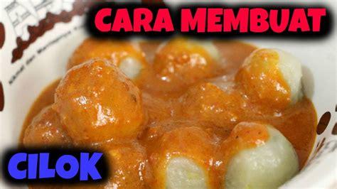 cilok indonesian snack  membuat cilok