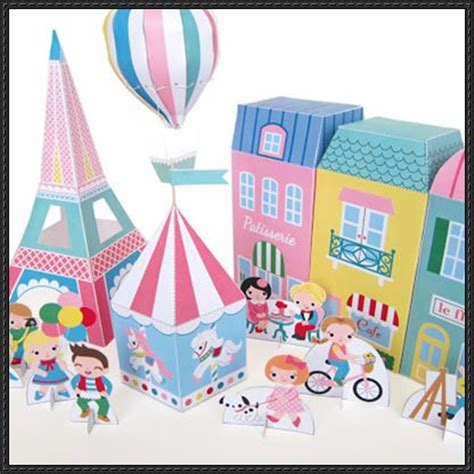Free Craft Paper Downloads - papercraft for free templates