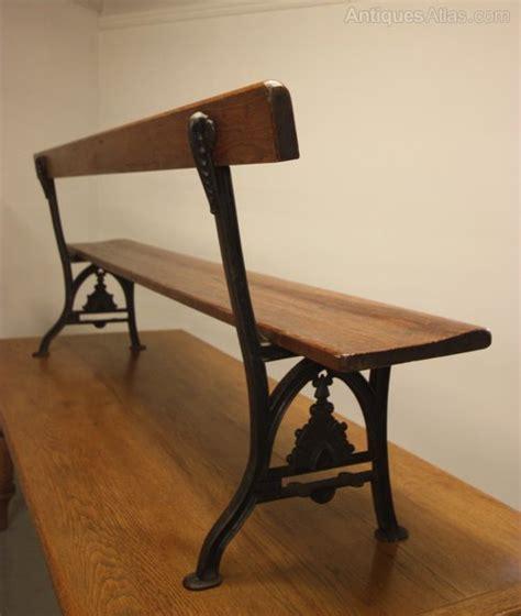 antique wrought iron bench cast iron pine antique bench antiques atlas