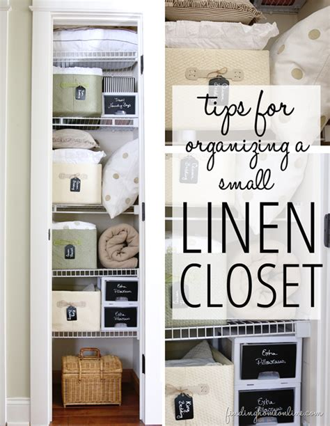 tips for organizing a small linen closet finding home farms