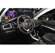 Suzuki SX4 S Cross Interior At The 2014 Paris Motor Show