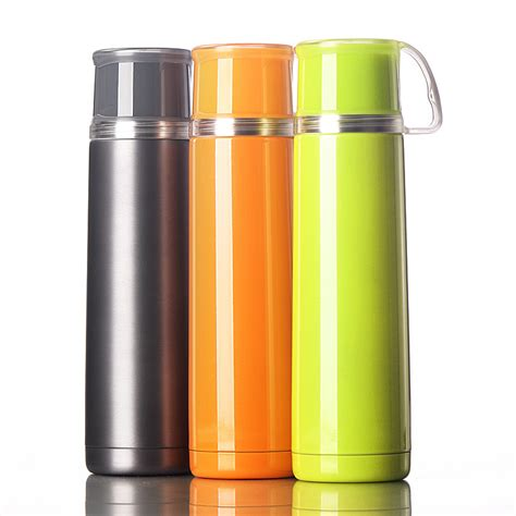 Botol Thermos Cup 500ml color stainless steel cup my bottle 500ml fashion student portable cup with handle