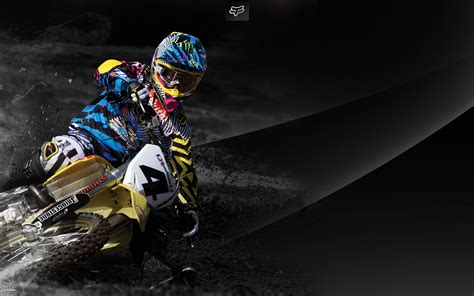 fox motocross fox wallpapers motocross wallpapersafari