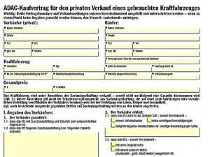 Auto Abmelden Was Passiert Mit Der Versicherung by Autoverkauf Vertrag Autoverkauf Vertrag Privat 2018