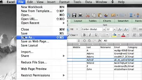 format csv yahoo how to import from excel to yahoo contacts howtech