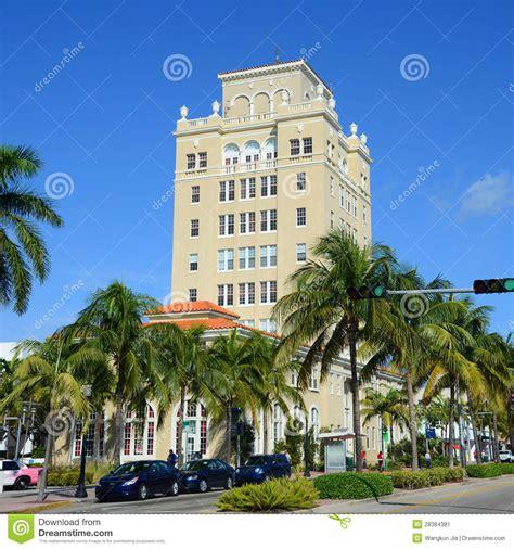 Mediterranean Beach House Plans Miami Beach Old City Hall Miami Florida Editorial Photo