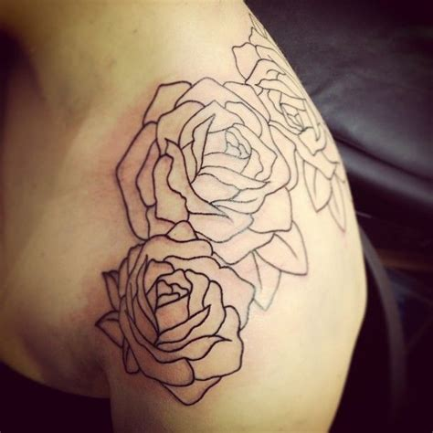 25 best ideas about rose outline on pinterest flower