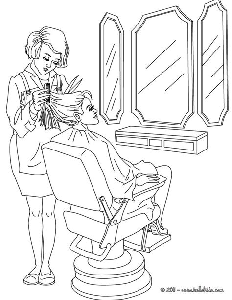 hairdresser coloring pages hairdresser coloring in coloring pages hellokids com