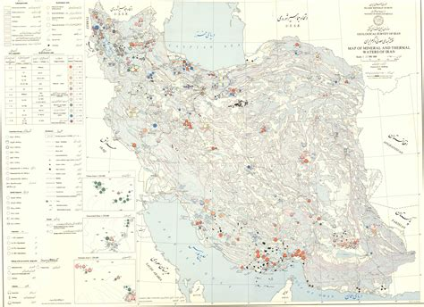 mineral map of iran welcome to iran