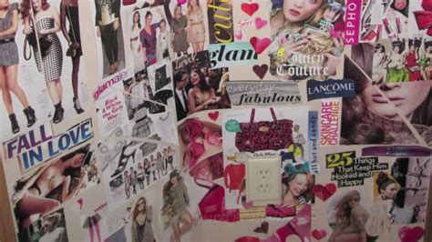 photo collage for bedroom wall excellent picture of girl bedroom decoration using decorative diy stacked magazine