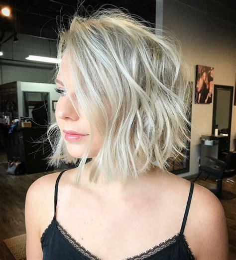 medium bob haircut ideas casual short hairstyles