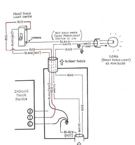 mechanical timer switch wiring diagram gallery wiring