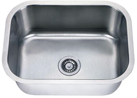 steel sink single bowl sink gta cabinet ltd