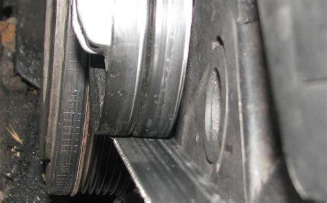 volvo   tdi  serpentine belt tensioner alignment volvo forums volvo enthusiasts forum