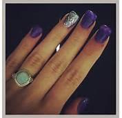 Purple Acrylic Nails  Pinterest