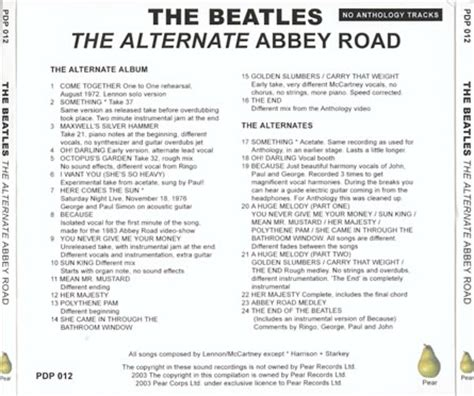 because we live here the paul kersey anthology books the beatles the alternate road cd