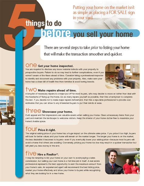 do i sell my house before buying a new one 5 things to do before selling your home