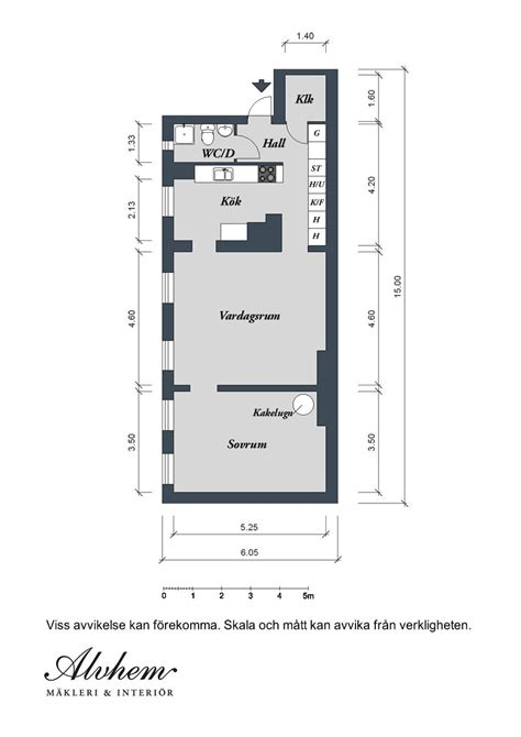 Floor Plan Of An Apartment | swedish apartment boasts exciting mix of old and new