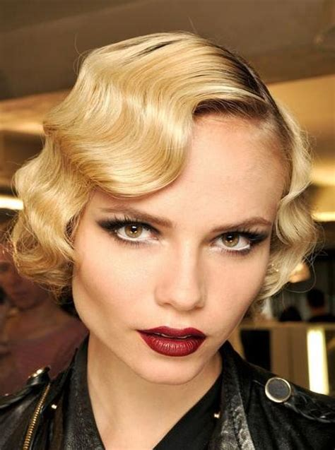 short 20s style curl retro hairstyles beautiful hairstyles