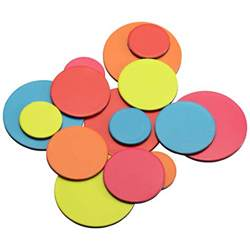 colored magnets three by three color dot magnets the container store