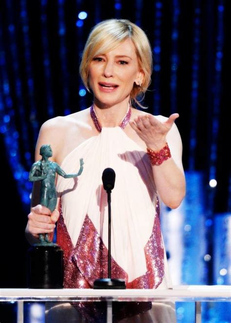 Screen Actors Guild Awards Cate Blanchett by Screen Actors Guild Awards 2014 Winners Clubhouse News